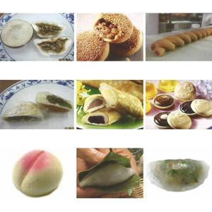 Meat Filling Bun & Sweet Filling Bun Processing & Decoration  - H-600
